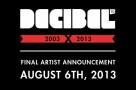 Decibel 2013 - AugustAnnImage