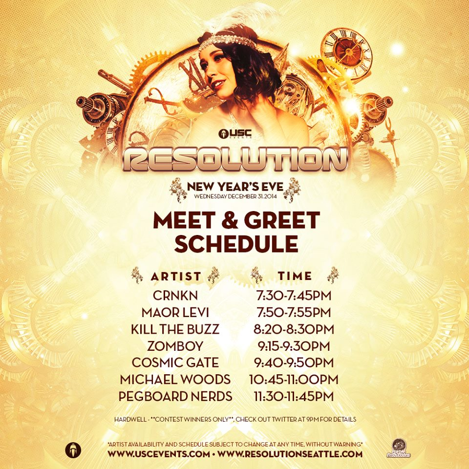 Resolution - meet and greet