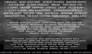 BassCoast lineup 2015