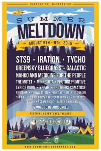 Summer Meltdown fest - 2015 lineup