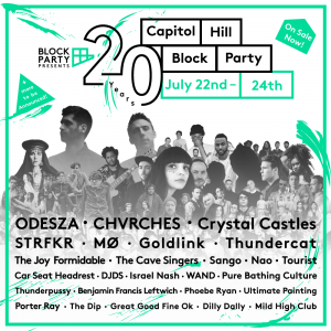 Odesza, STRFKR & more at the Capitol Hill Block Party @ Seattle | Washington | United States